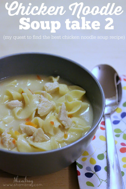 creamy chicken noodle soup homemade recipe