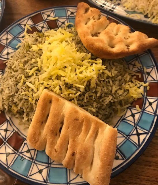 Ali Qapu, Kew East, green rice
