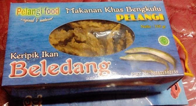 Makanan Khas Bengkulu, Keripik Ikan Beledang