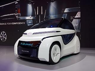 Mobil Toyota Concept I-Ride
