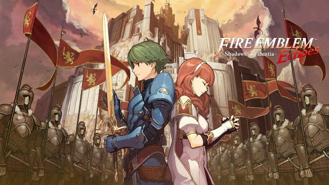 Fire Emblem Echoes: Shadows of Valentia ya disponible, ¡y dos nuevos amiibos!