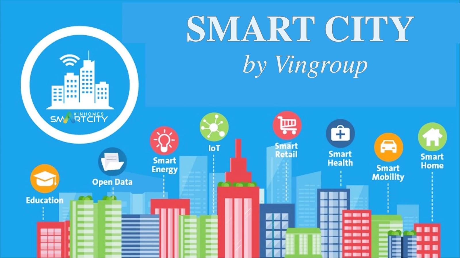 Thành phố thông minh hiện đại Vinhomes Smart City của Vingroup