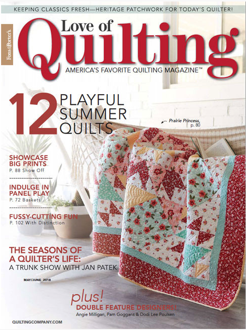 magazine subscription quilt love quilting of