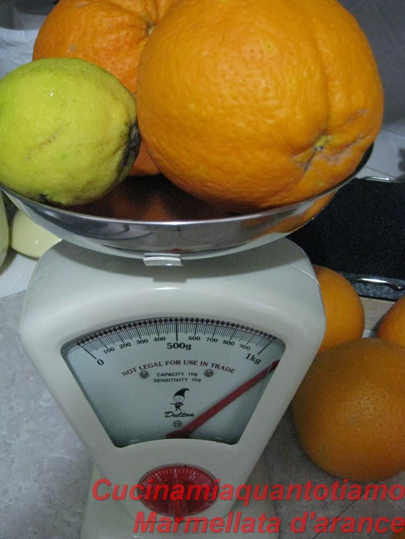marmellate d arance