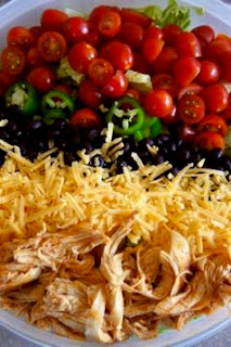 Buffalo Chicken Taco Salad: Savory Sweet and Satisfying