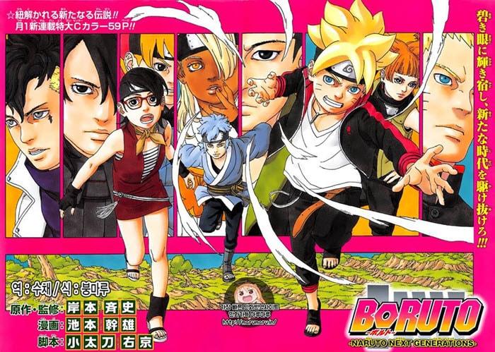 poster Anime Boruto : Naruto Next Generation