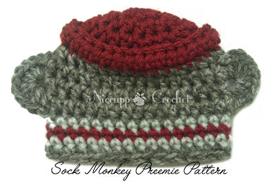 Niccupp Crochet: Preemie Sock Monkey Pattern