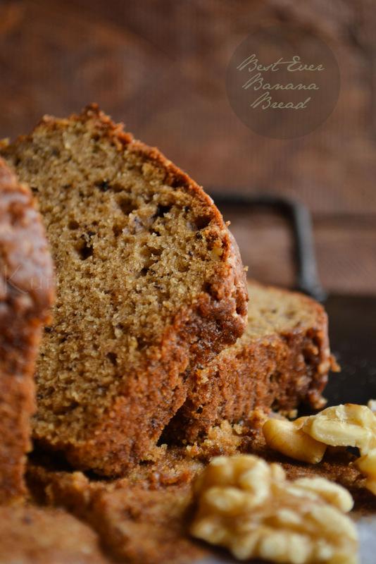 Best Ever Banana Bread Recipe Kurryleaves