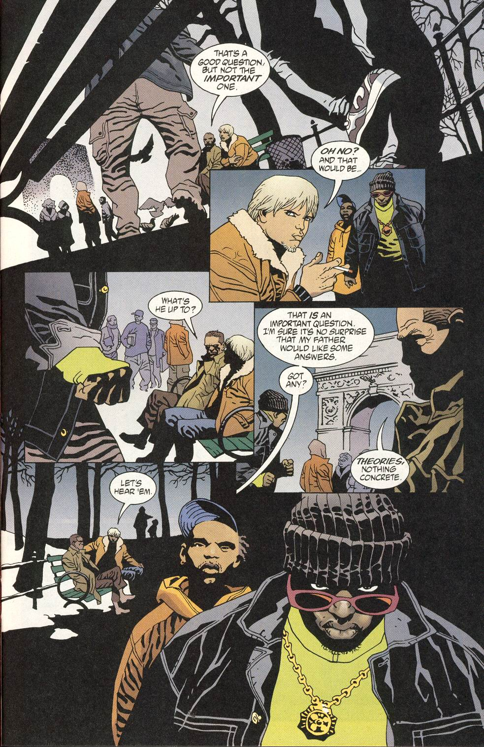 Read online 100 Bullets comic -  Issue #20 - 7