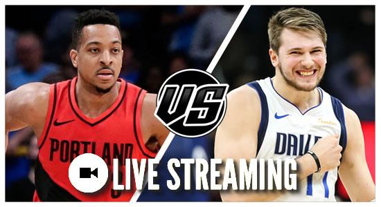 Live Streaming List: Portland Trail Blazers vs Dallas Mavericks 2018-2019 NBA Season