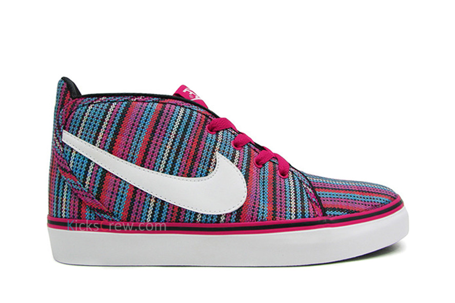 the latest 33f0a fe27e ... discount nike womens toki mid canvas style no. 434173 602. color bright  cerise white