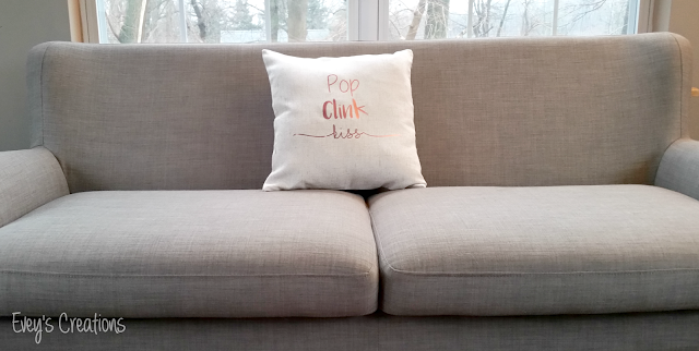 NYE Throw Pillow Tutorial Here