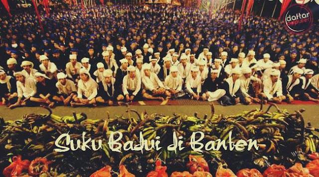 Suku Badui di Banten