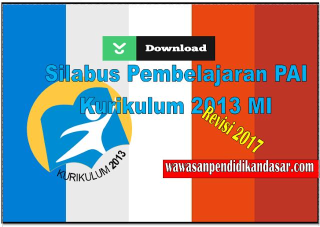 Silabus Aqidah dan Akhlaq Kurikulum 2013 MI