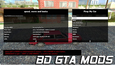 GTA SA - Pimp My Car