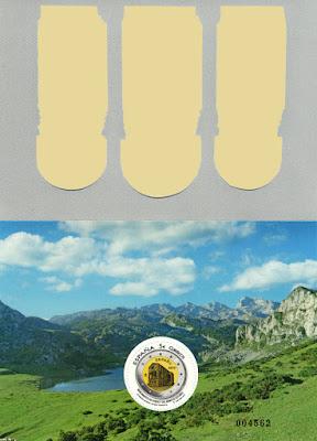 Hoja bloque Monumentos de Oviedo y el Reino de Asturias. Patrimonio Mundial