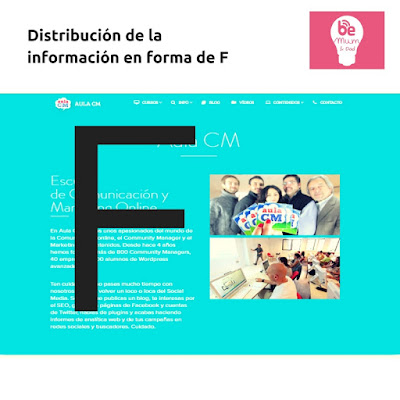Diseño web patrón F