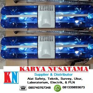 Jual Lampu Rotary Bohlam Biru Untuk Patwal Mobil Pejabat di Malang