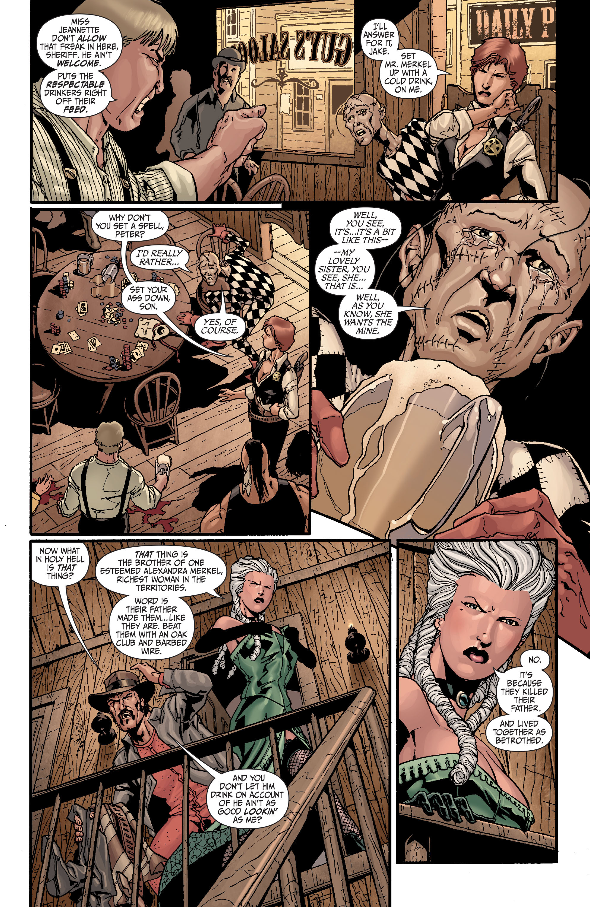 Read online Secret Six (2008) comic -  Issue #24 - 10