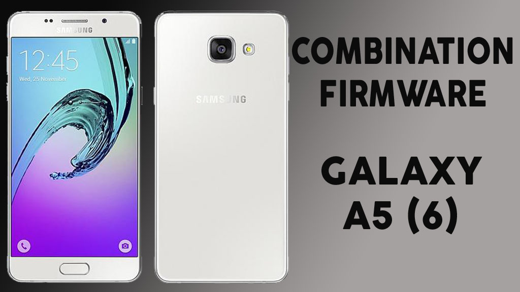 COMBINATION FIRMWARE (SM-A510F U5) Samsung Galaxy A5 2016 (Soled FRP