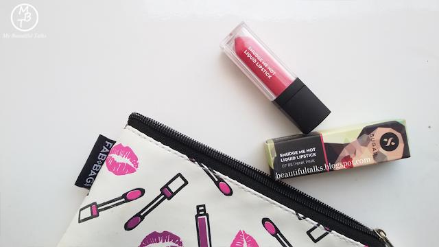 SUGAR Smudge Me Not Liquid Lipstick - 07 Rethink Pink