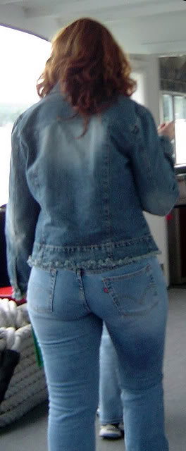 Mature Tight Jeans 45