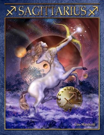 Tarot Musings Using Tarot Reversals: Tarot Musings: Sagittarius The Archer