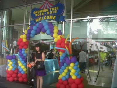 Balon welcome, Gate balon, dekorasi balon