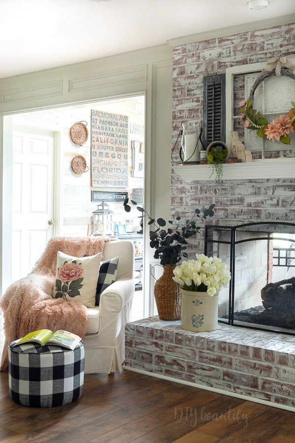 cozy sitting area