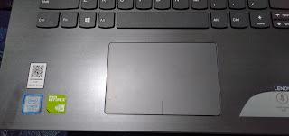 touchpad lenovo