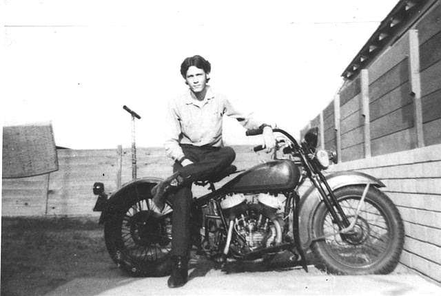 Old Harley Davidson - History Begins Part 2