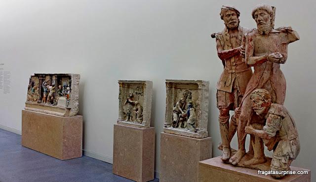 Obras do escultor medieval João de Ruão no Museu Nacional Machado de Castro, Coimbra