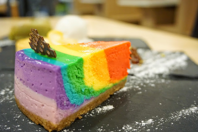 Rice & Fries - Rainbow Cheesecake