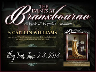 Blog Tour: The Events at Branxbourne by Caitlin Williams