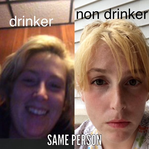 10+ Before-And-After Pics Show What Happens When You Stop Drinking - Was A Heavy Binge Drinker 15 Months Ago