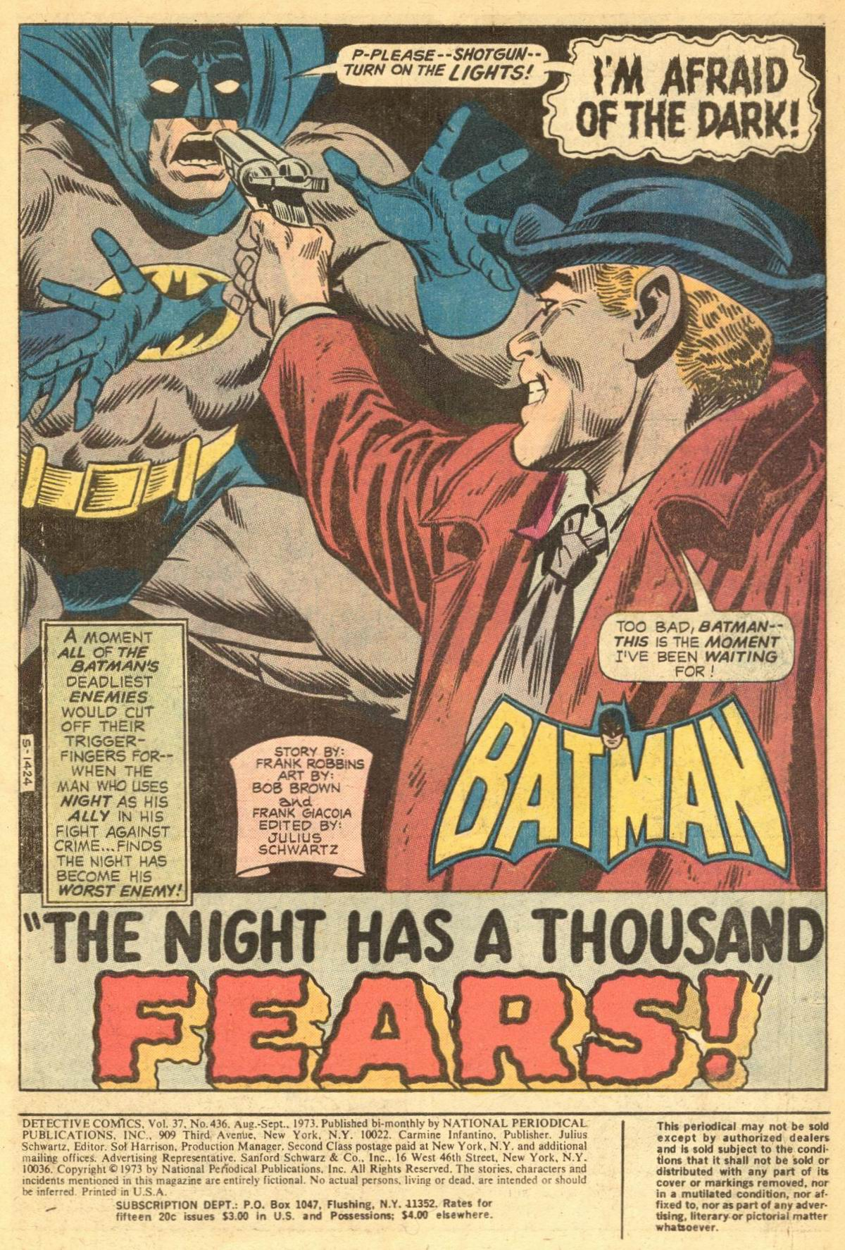 Detective Comics (1937) 436 Page 1
