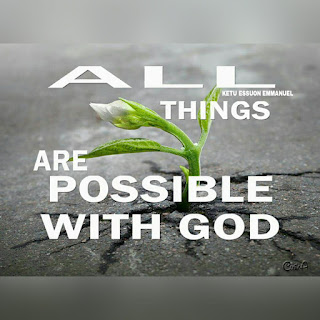 God of possibility