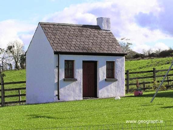 Casa pequeña en Irlanda