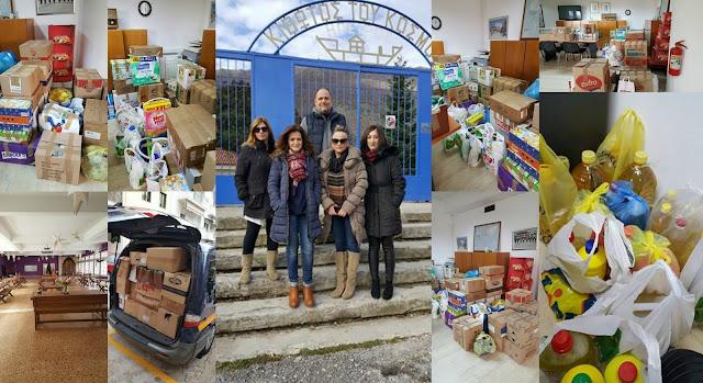 Ηγουμενίτσα: Συγκέντρωσαν τρόφημα και υλικά για την Κιβωτό του Κόσμου