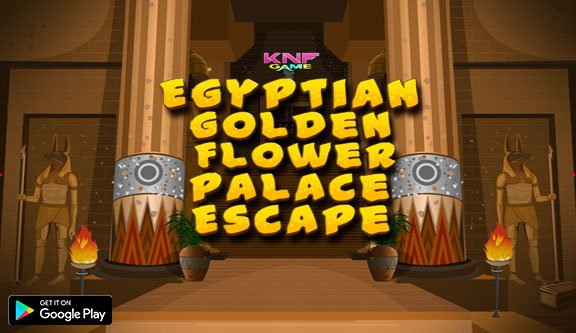 Knfgame Egyptian Golden Flower Palace Escape