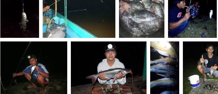 Cara Mancing Ikan di Waduk Malam Hari Biar Dapat Banyak