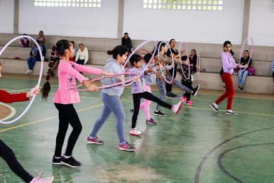 Ginástica Rítmica para crianças em Iguape