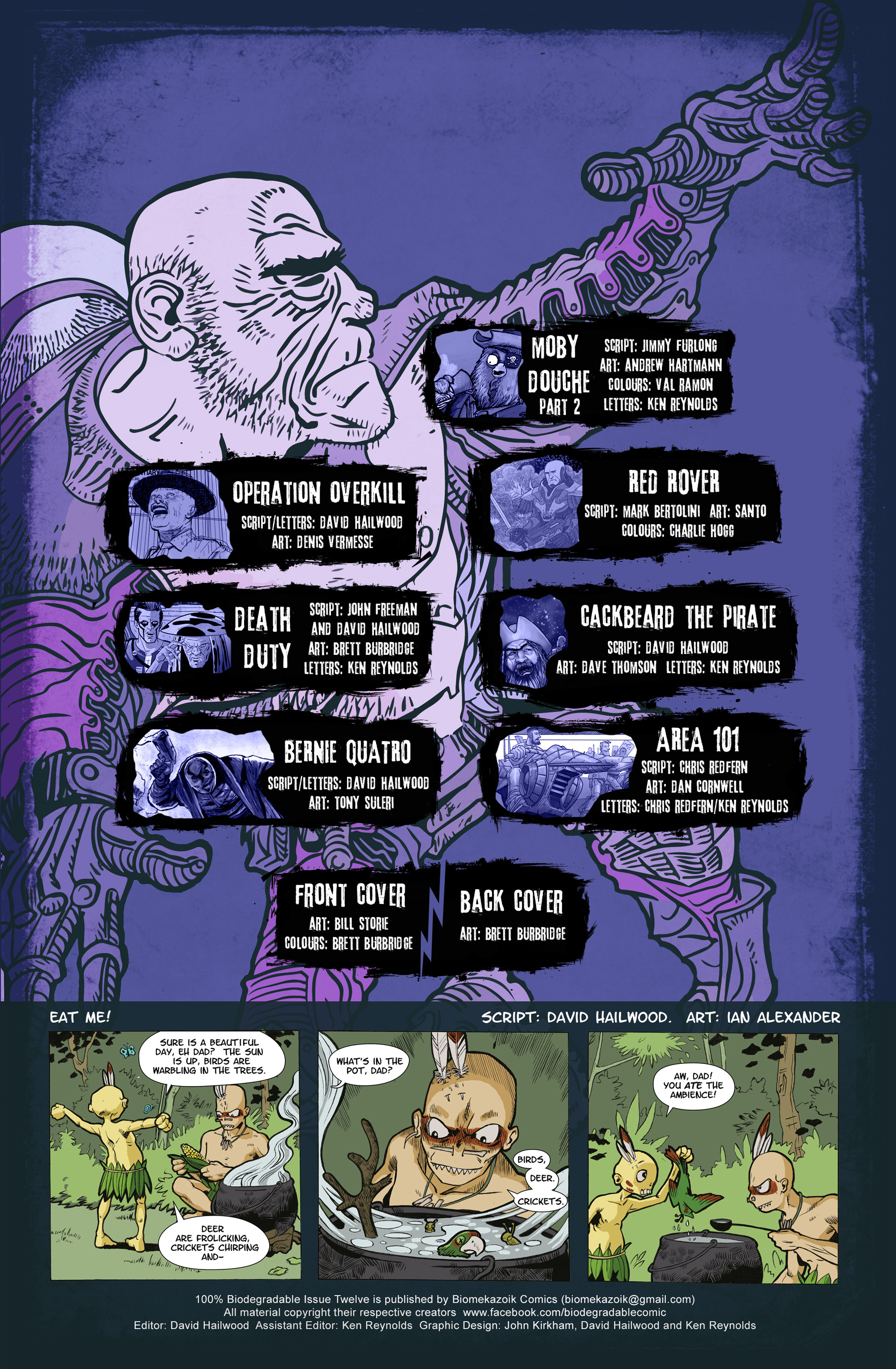 Read online 100% Biodegradable comic -  Issue #12 - 2