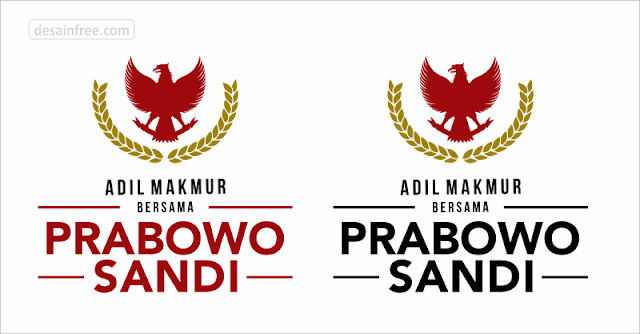 Download Logo Prabowo-Sandi #02 Format CDR