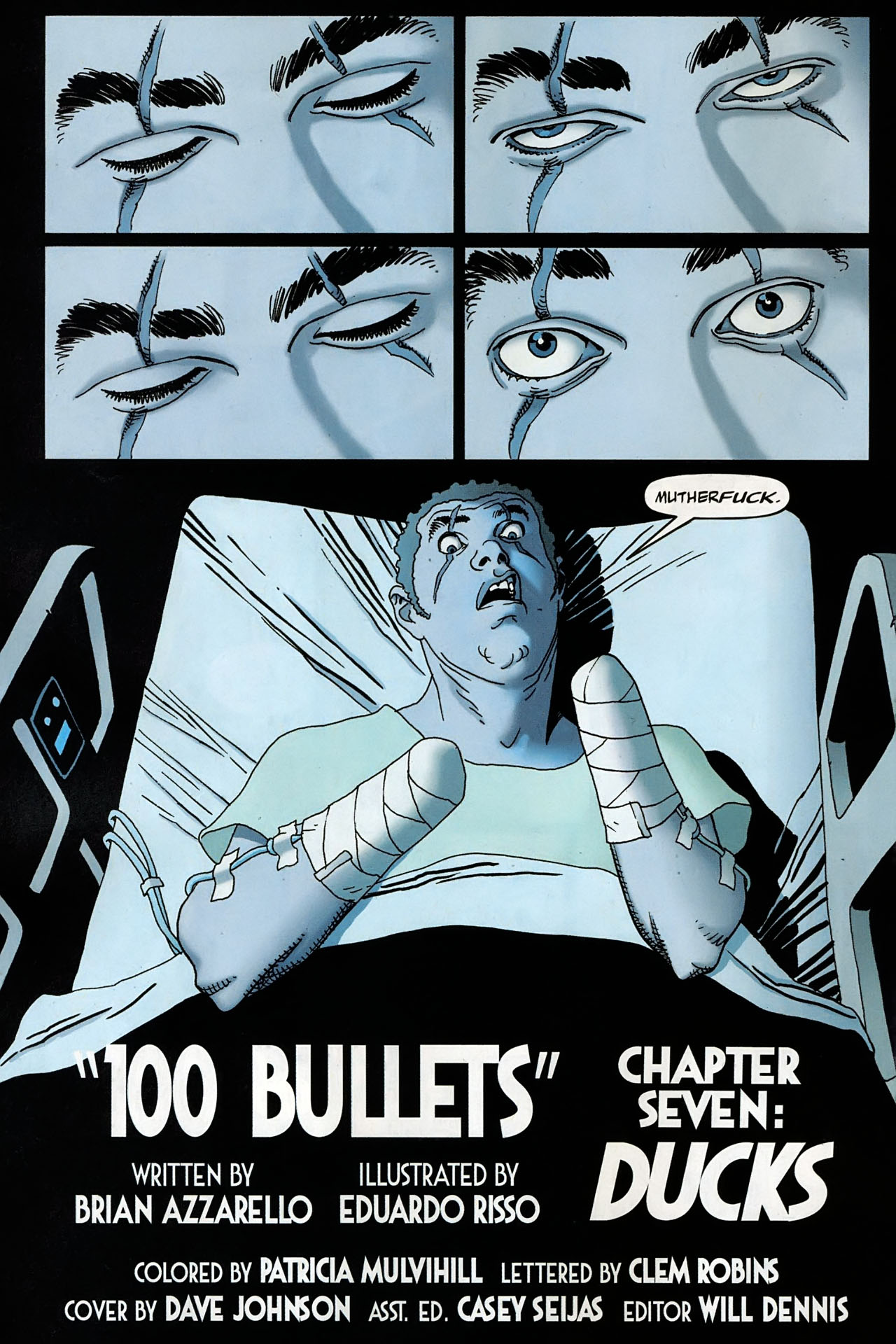 Read online 100 Bullets comic -  Issue #95 - 5