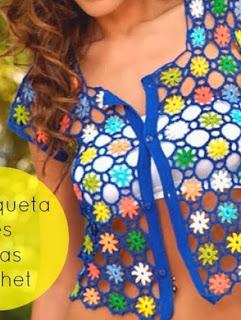 http://patronesparacrochet.blogspot.com.es/2014/02/chaqueta-corta-flores-unidas-crochet.html