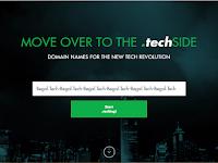 Cara Mendapatkan Domain TLD .Tech Gratis