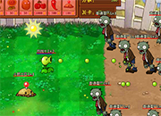 Peashooter  Vs Zombies new Attack