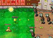 Peashooter  Vs Zombies new Attack
