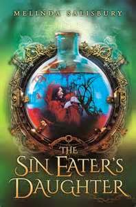 Sin Eater's Daughter by Melinda Salisbury cover, review